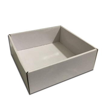 Best Quality for White Cardboard Boxes White corrugated boxes for packing supply to Kazakhstan Manufacturer