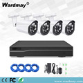 4CH Security  Cameras 2.0MP POE NVR Kit