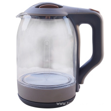 Best quality and factory for Electric Cordless Glass Tea Kettle Electric glass kettle supply to India Manufacturers