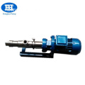 industry single slurry sludge dredge screw pump