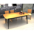 Solid Wood Rubber Wood Dining Table