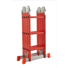 aluminum folding ladder with big hinge