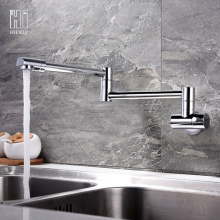 Fast Delivery for Kitchen Faucet,Brass Kitchen Faucet,Sink Faucet Manufacturers and Suppliers in China HIDEEP Wall Mount Full Copper Kitchen Faucet supply to South Korea Exporter