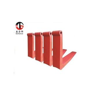 Good material low price thick heel pallet tines for sale