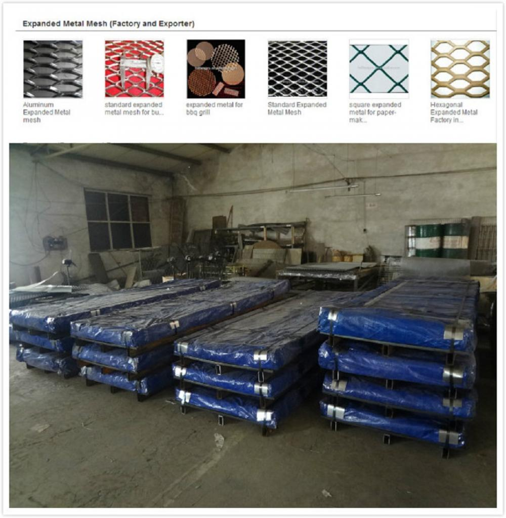 Expanded Metal Mesh Flattend