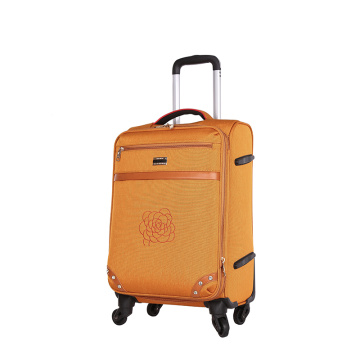 Colourful ultra light aluminum trolley EVA luggage