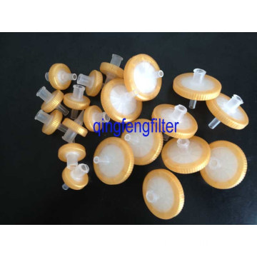 PVDF Lab Syringe Filter 0.22um 0.45um for Clarification
