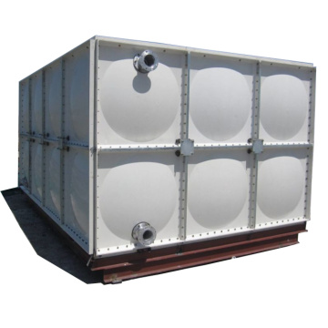 Large Capactiy Simple Installation FRP Water Tank