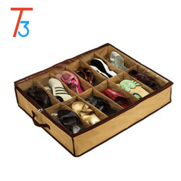 covered shoe rack/plastic shoe rack/foldable storage box