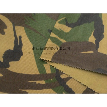 CVC Anti-infrared Woodland Camouflage Fabric for Netherlands