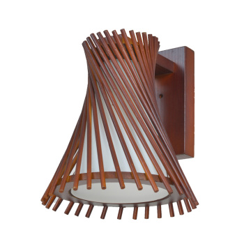 Excellent quality decorative indoor wood wall lamp