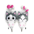 3.5mm In-Ear Retractable Wired Headphones for Kids/Girls