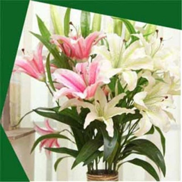 Decorative artificial flower lily