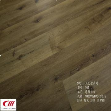 SPC Flooring 7mm + 0.5mm Wearlayer