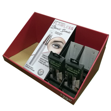 Custom Corrugated Collection Counter Cosmetics Display Box