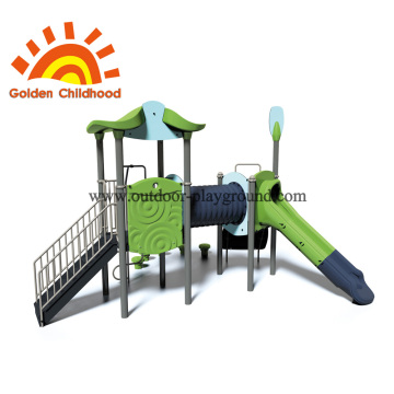 Tube Slide Outdoor Playground Equipment For Children