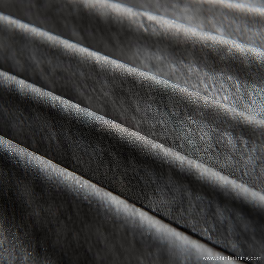 PA coating soft nylon interlining for suit fabric