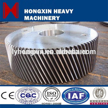 forging steel material helical gear bevel gear