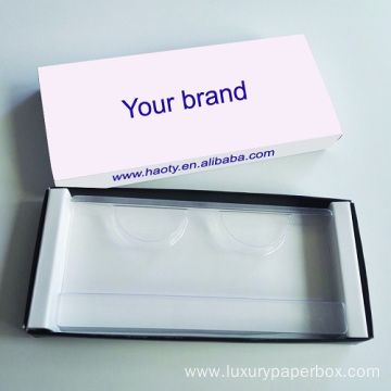 MOQ100 Quality Customized Printing Mink Lashes Box