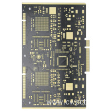 Gold fingers 10 layers printed circuit boards