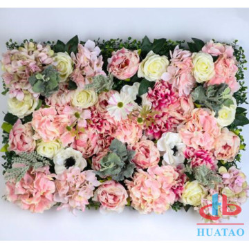 Artificial Flower Wall For Wedding Decoration