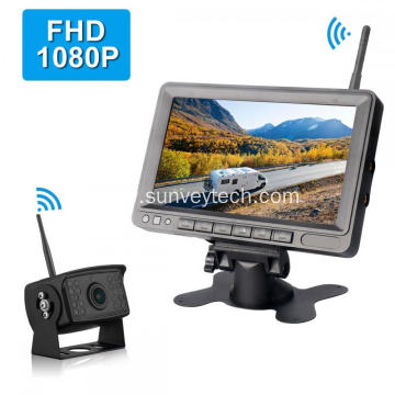Digital Wireless Rear View Monitor Camera Kit
