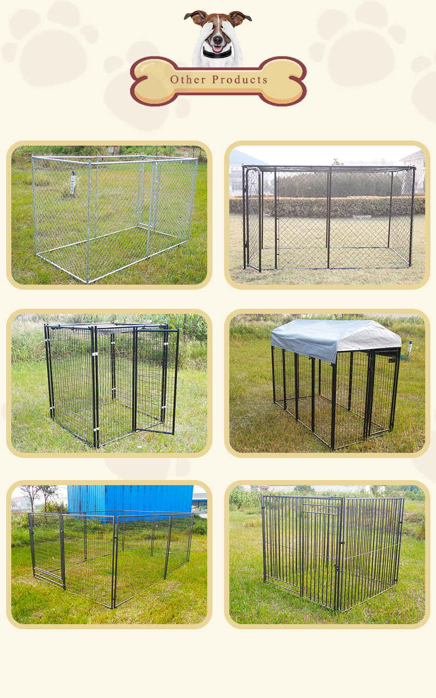 chain link dog kennel&welded dog kennel