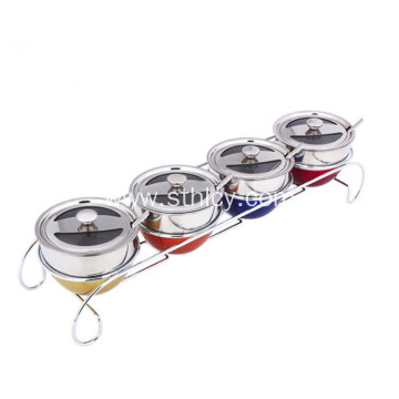 Multi-functional Stainless Steel Seasoning Jar Set