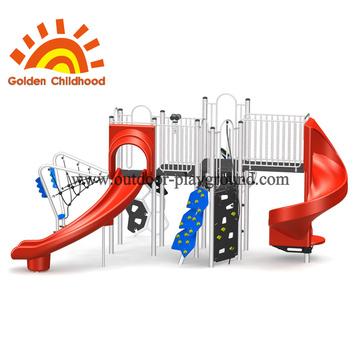 Climbing Exercise Outdoor Playground Equipment For Children