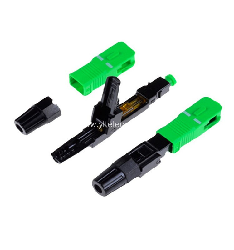 FTTH Fiber Optical SC/APC SM Fast Connectors