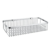 Bathroom Wall mounted stainless steel Rectangular Basket