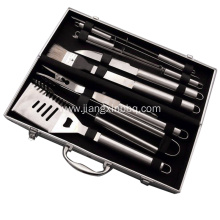 Fast Delivery for Grill Accessories 6 PCS BBQ Tools With Aluminum Case export to Indonesia Importers