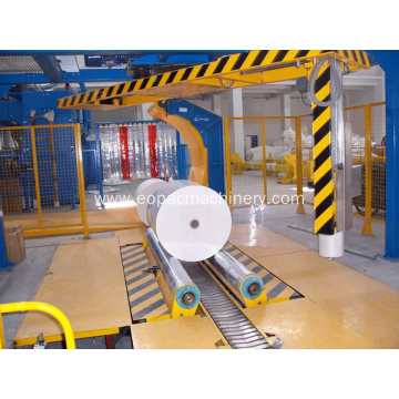 Fully Automatic Paper Roll Stretch Wrapping Machine