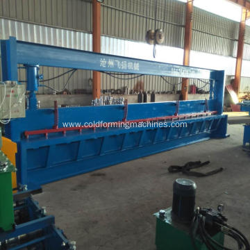 Cnc hydraulic steel plate metal sheets cutting machine