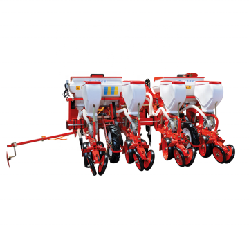 Hot sale 4 rows pneumatic precision seeder machine