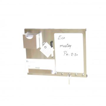 multifunction stainless steel memo board