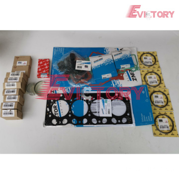 D4E rebuild kit piston ring liner gasket bearing