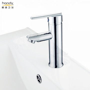 Bathroom Faucet with Lever Handle