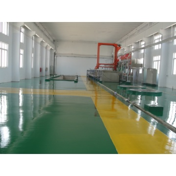 Colored epoxy floor paint for factory