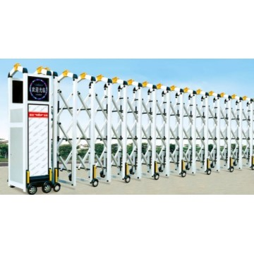 High Quality Electric Trackless Retractable Gate
