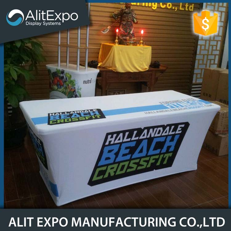 Ultra fit display table cover wholesale