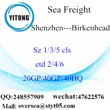 Shenzhen Port Sea Freight Shipping To Birkenhead