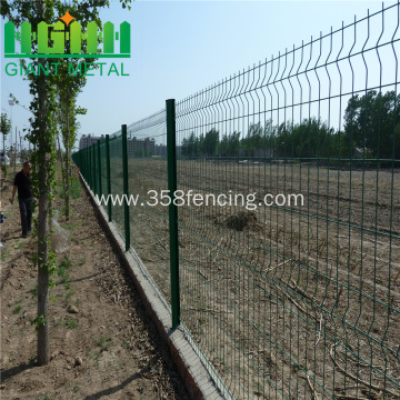 Triangle Bending Galvanized BRC Weld Mesh Fence