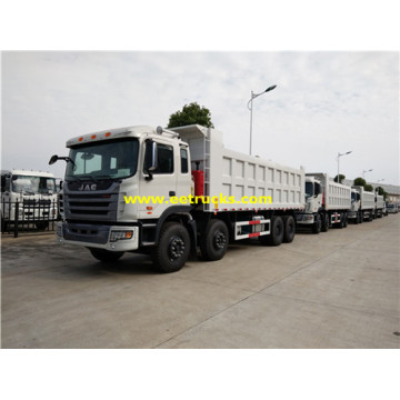 JAC 300HP 18T 12 Wheel Tipper Trucks