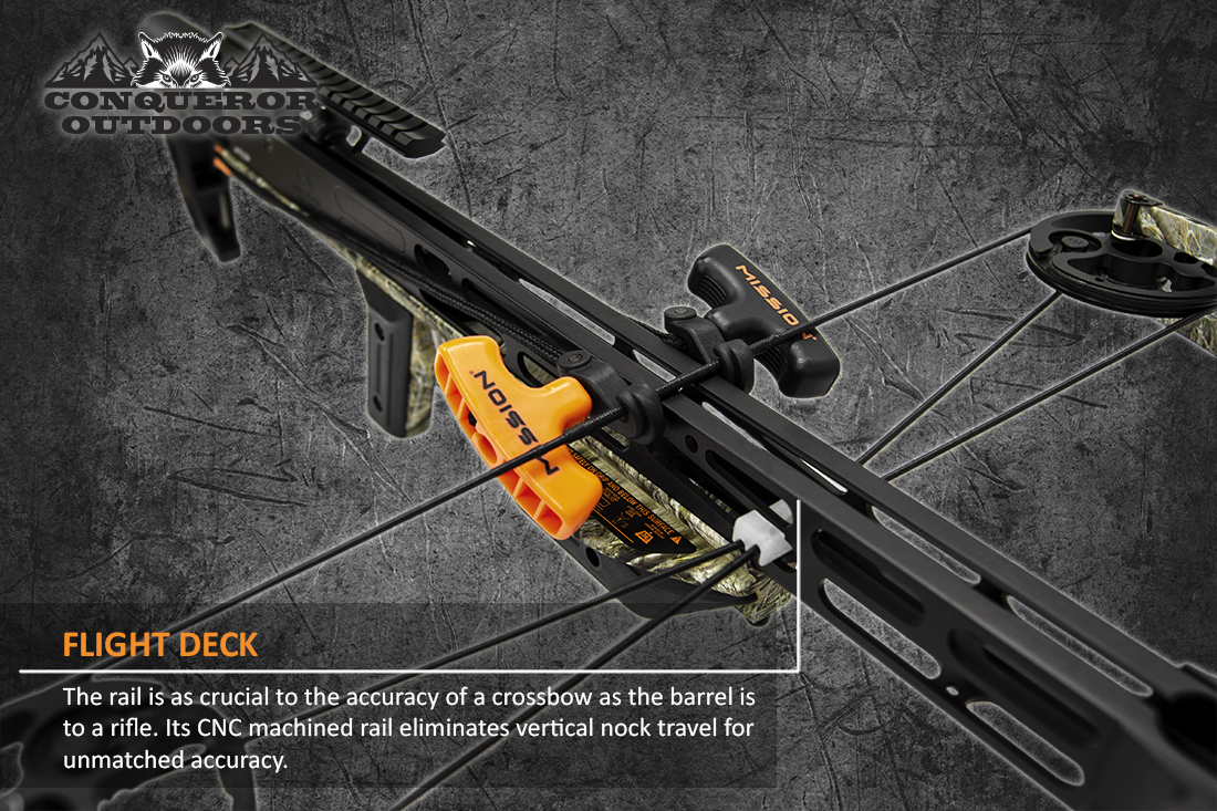 Mission Crossbow Sniper Lite Loading Handles Detail with Text