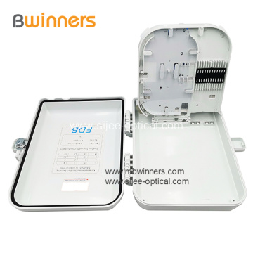 Wall Mount Type Fiber Optical Distribution/Terminal Box With Plc Splitter 16 Core