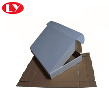 Custom corrugated cardboard box white carton