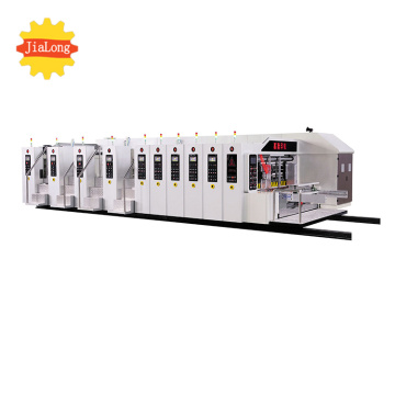 Full automatic printer slotter die cutter machine
