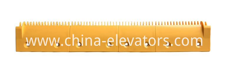 Yellow Plastic Comb Plate for LG Sigma Escalators