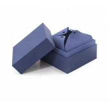 Cardboard Paper Flat Folding Magnetic Necklace Gift Box